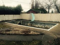 Démolition de piscines
